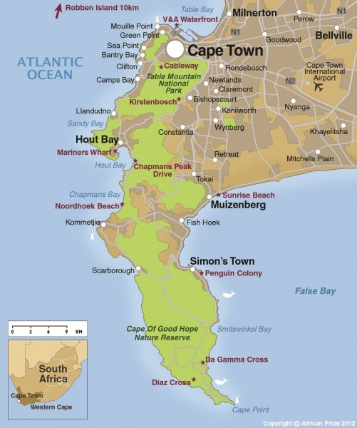 Cape Town - Suburbs | African Pride