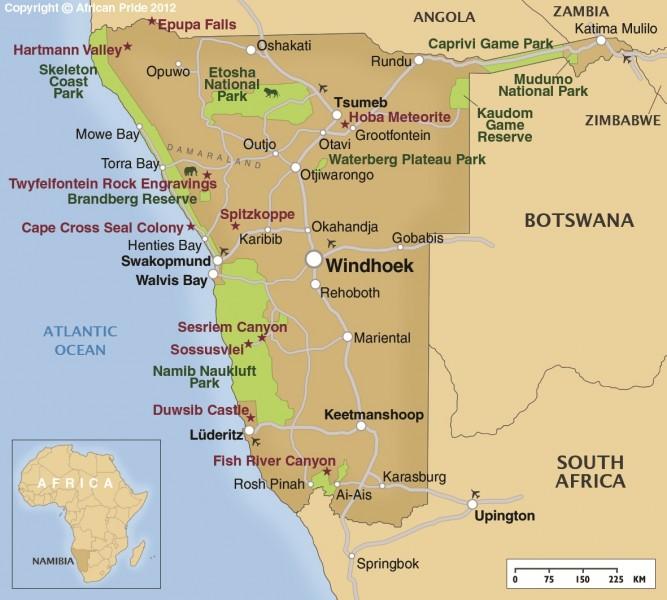 Swakopmund African Pride