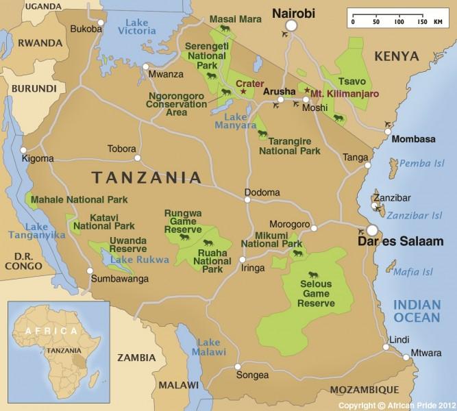 Map Of Africa Zanzibar.Zanzibar African Pride