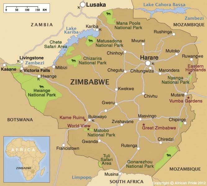 Bulawayo Amp Matobo Hills African Pride